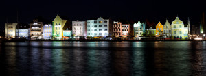 Beautiful Curaçao by night