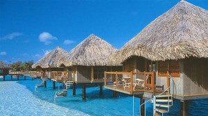 Palapa on the water