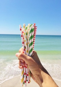 ALTERNATIVES Paper straws
